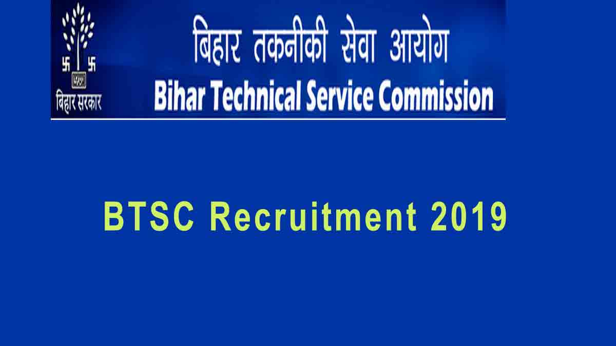BTSC Bihar Staff Nurse Recruitment 2019 Apply Online