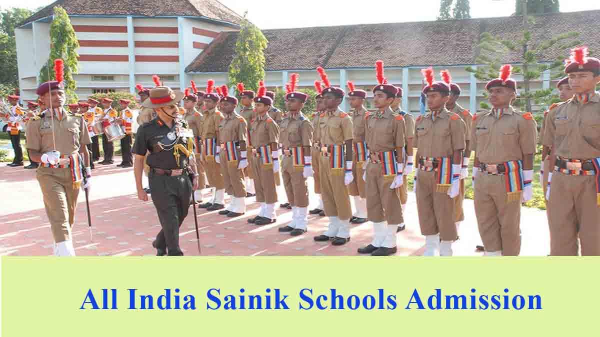 All India Sainik School Entrance Exam (AISSEE 2020) for Classes 6 & 9