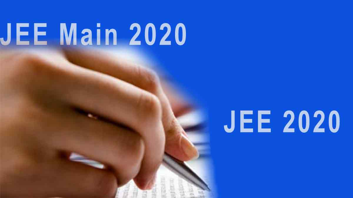 JEE Main 2020 Application  – Syllabus, Exam Pattern, Dates