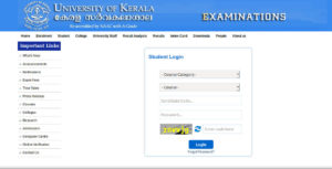 Kerala University Exam Hall Ticket - Download Admit card
