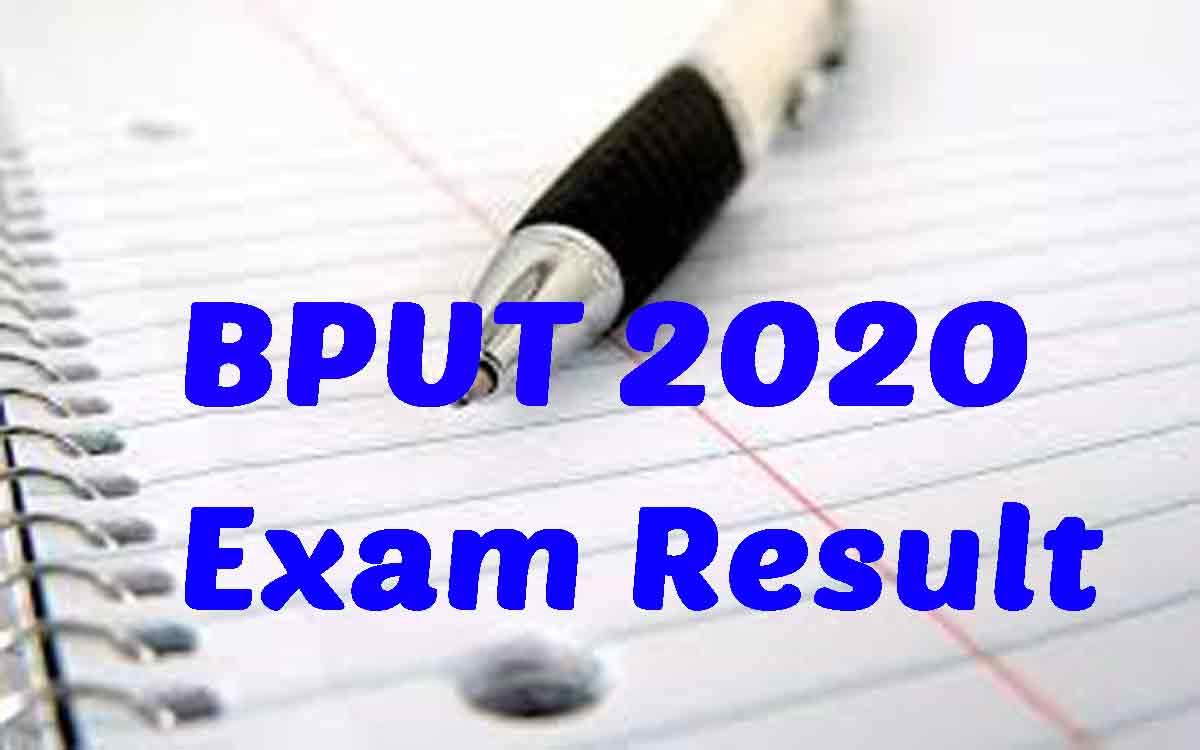 BPUT 2020 Result [UG & PG courses] Released Live UPDATES*