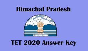 HPTET 2020 Answer Key declared