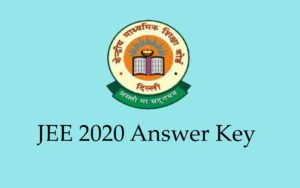 JEE Main 202 ANWER KeY