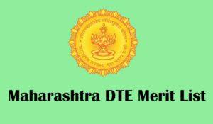 Mahrashtra DTE merit List 2020