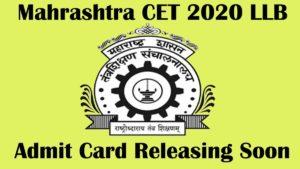 maharashtra cet llb 2020 admit card