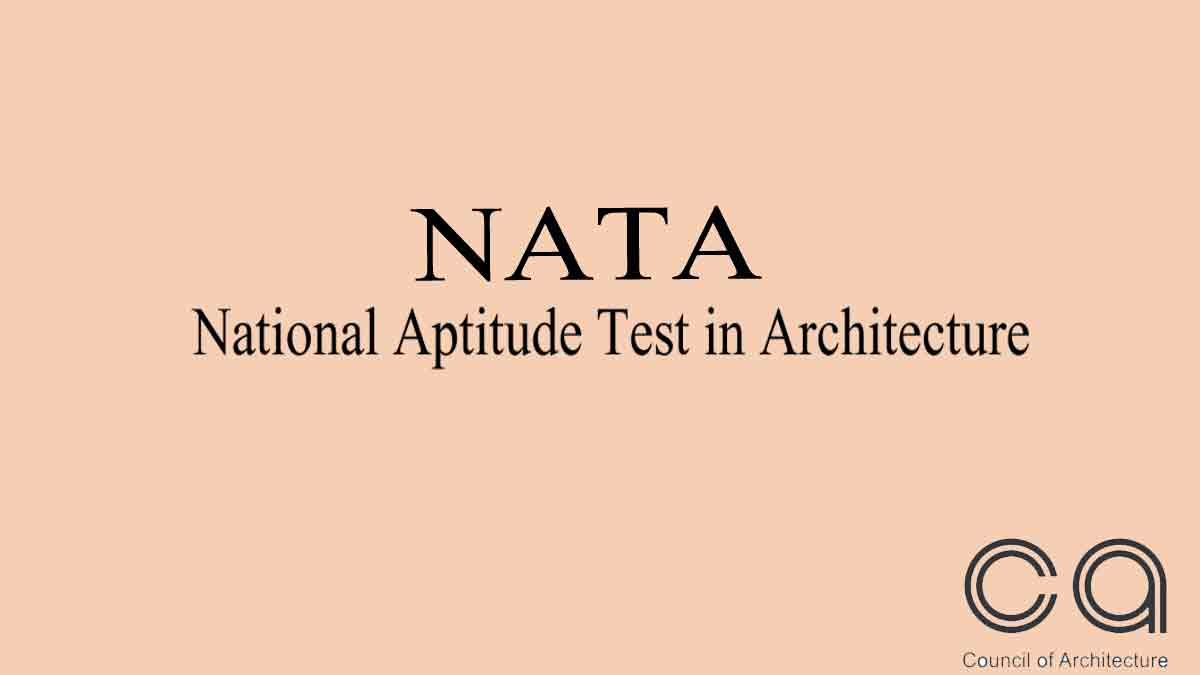 NATA 2020 Result publishing today @ www.nata.in