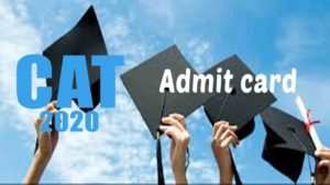 CAT 2020 Admit Card [Releasing] – Download hall ticket @ www.iimcat.ac.in