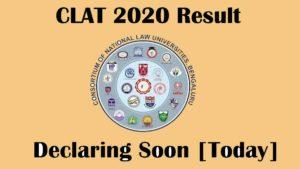 CLAT 2020 result