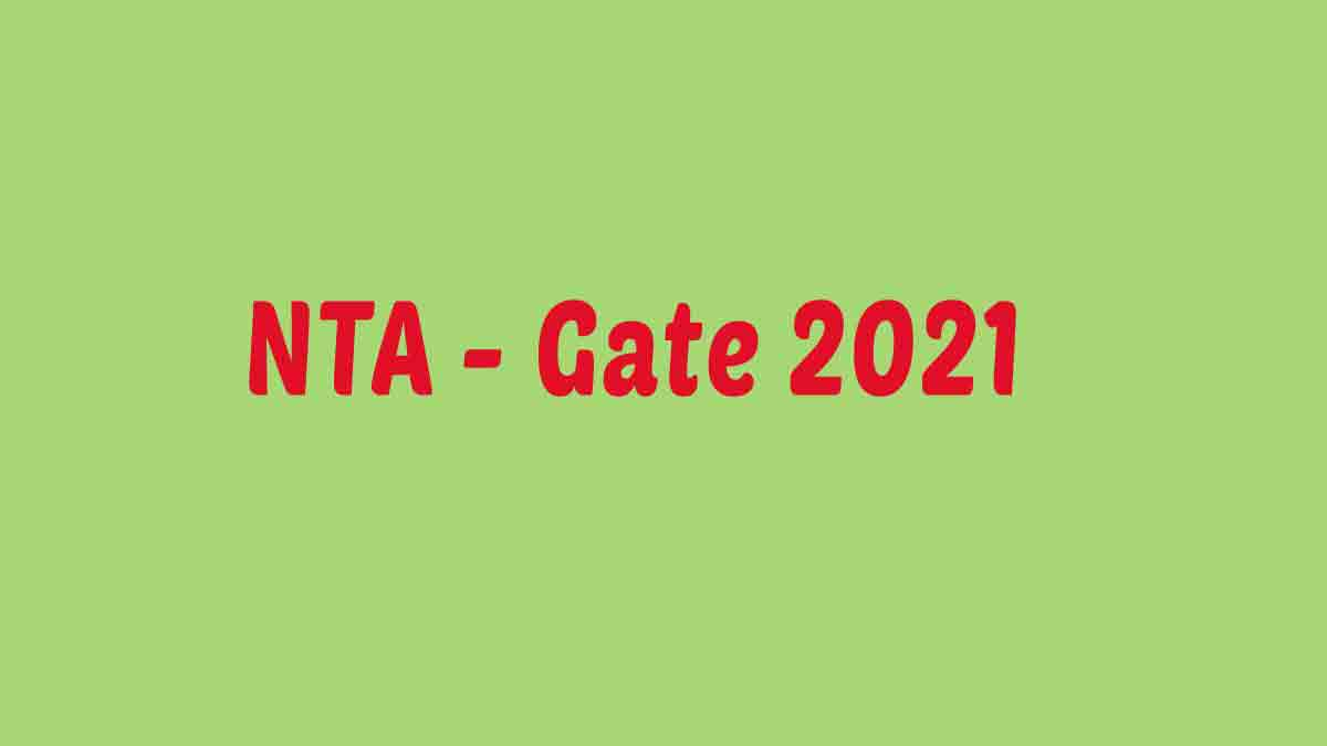GATE 2021 Application Form Correction Available Now [Started] – Correction Started