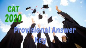 cat 2020 Provisional Answer key