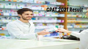 GPAT 2021 Result