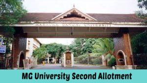 mg university ug second allotment